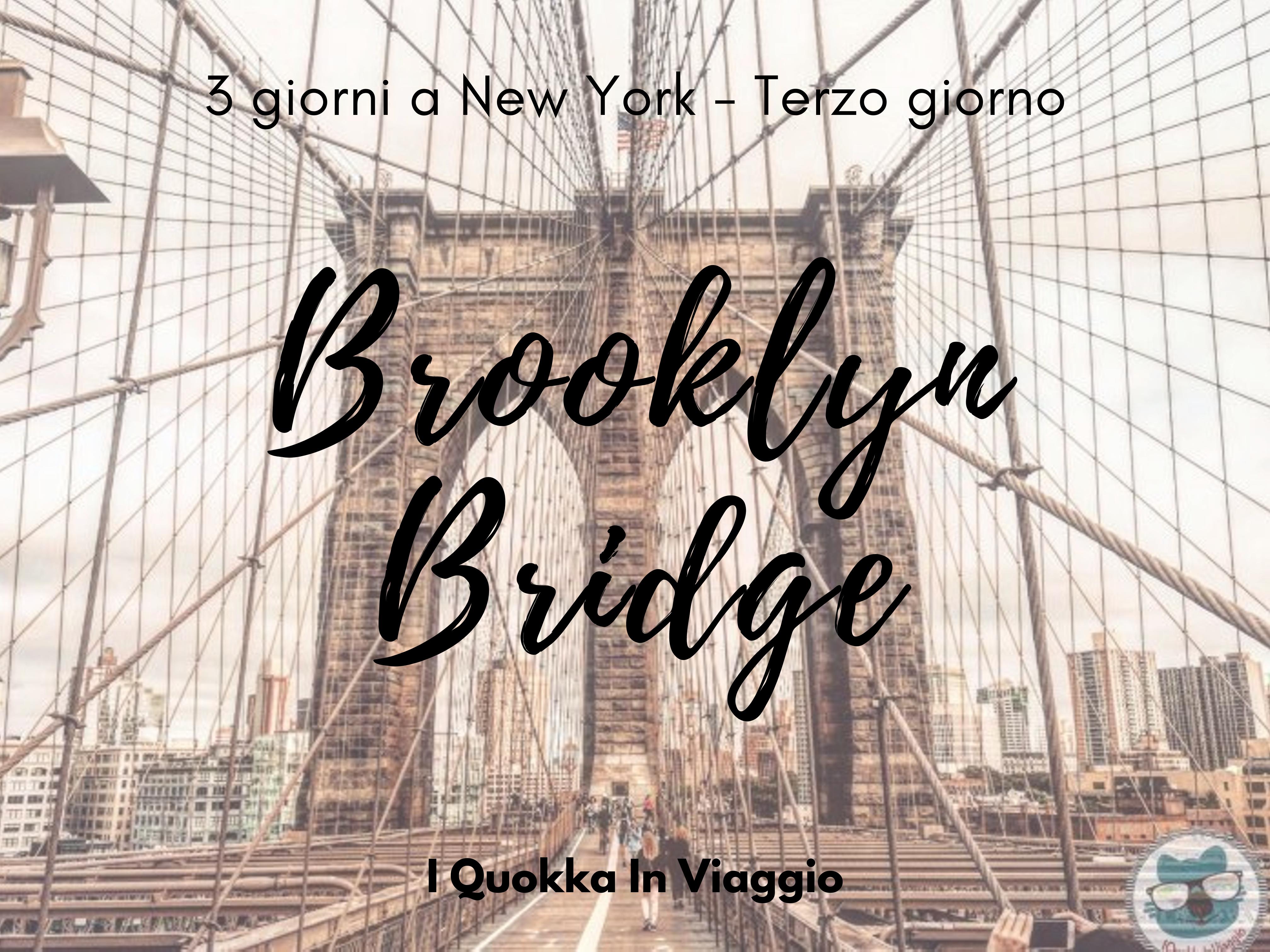3 giorni a New York - Terzo giorno
