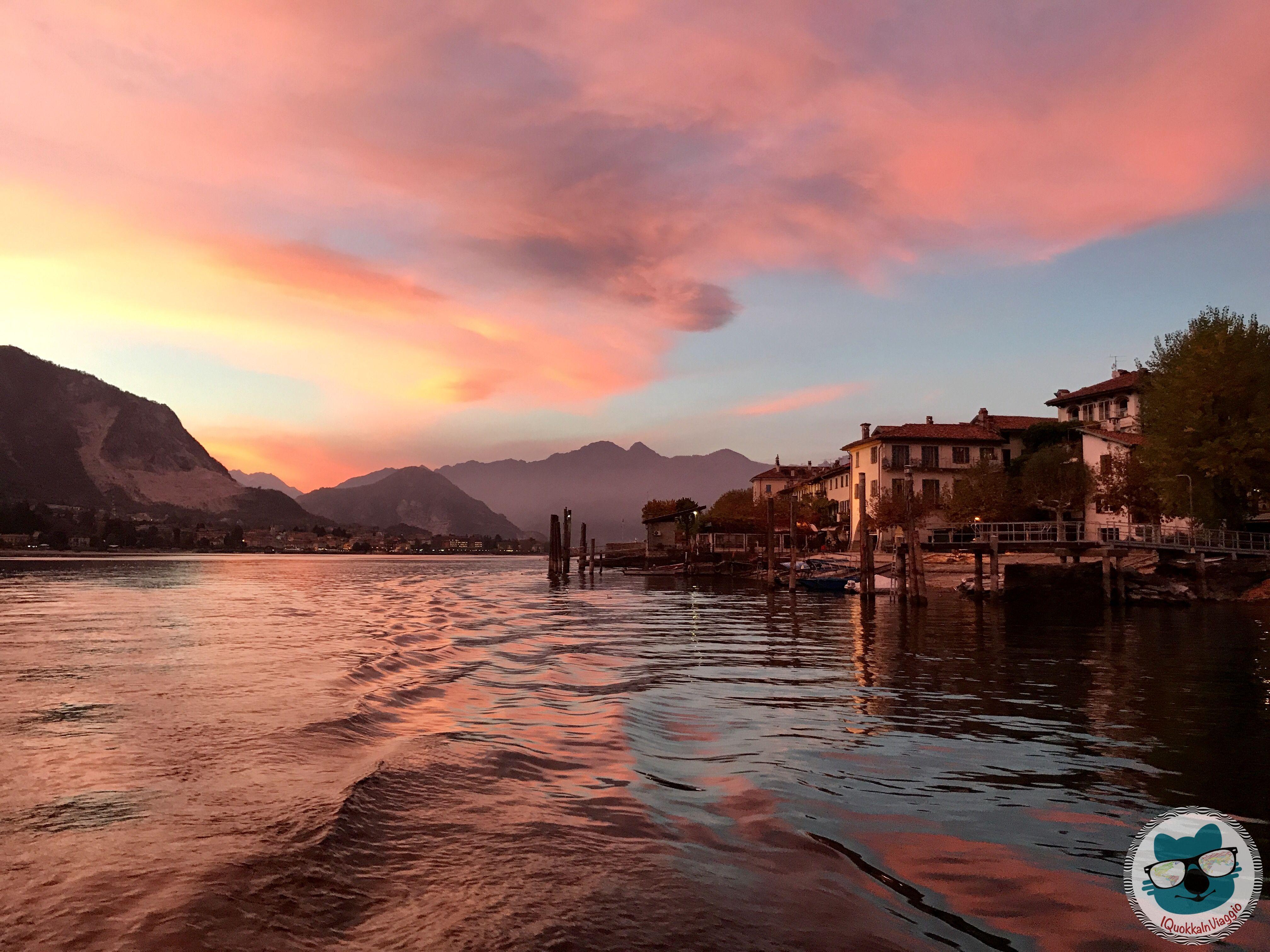 Lago Maggiore - Tramonto