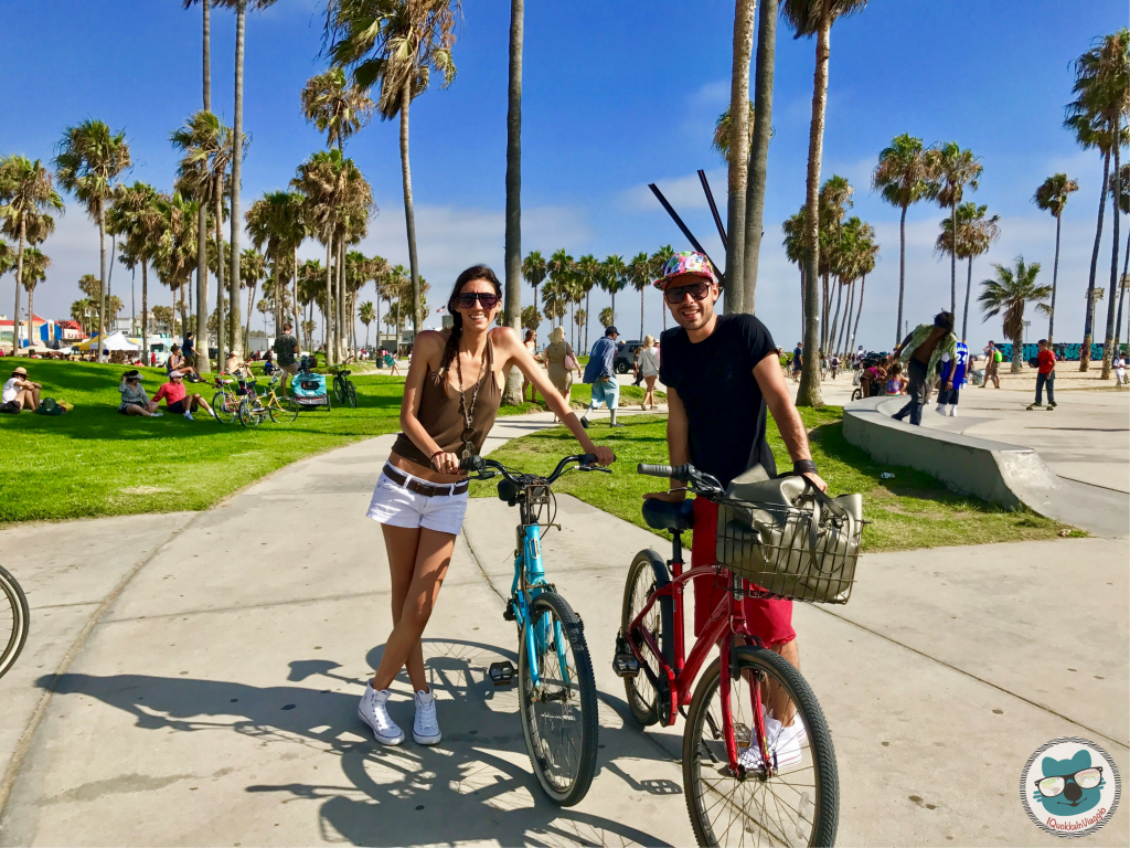Venice Beach - in bicicletta