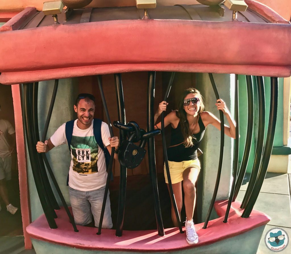Disneyland - Fuga