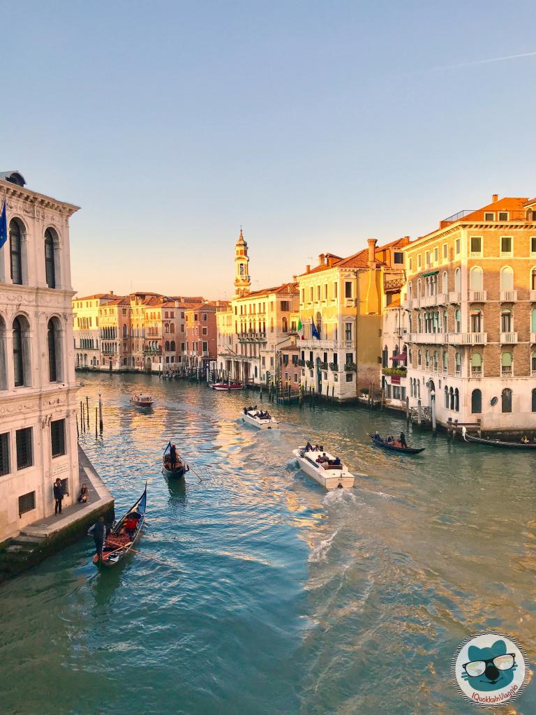 Venezia - Dal Ponte di Rialto