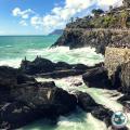 Cinque Terre - Manarola scogliera