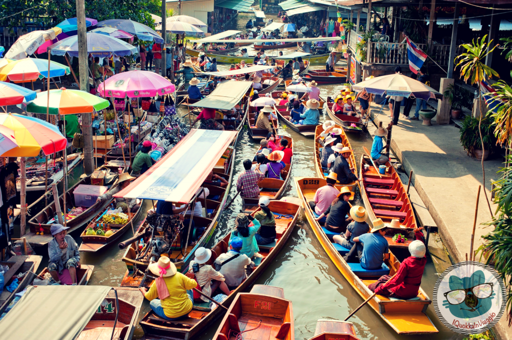 10 things to do in Bangkok Thailandia - Floating Market