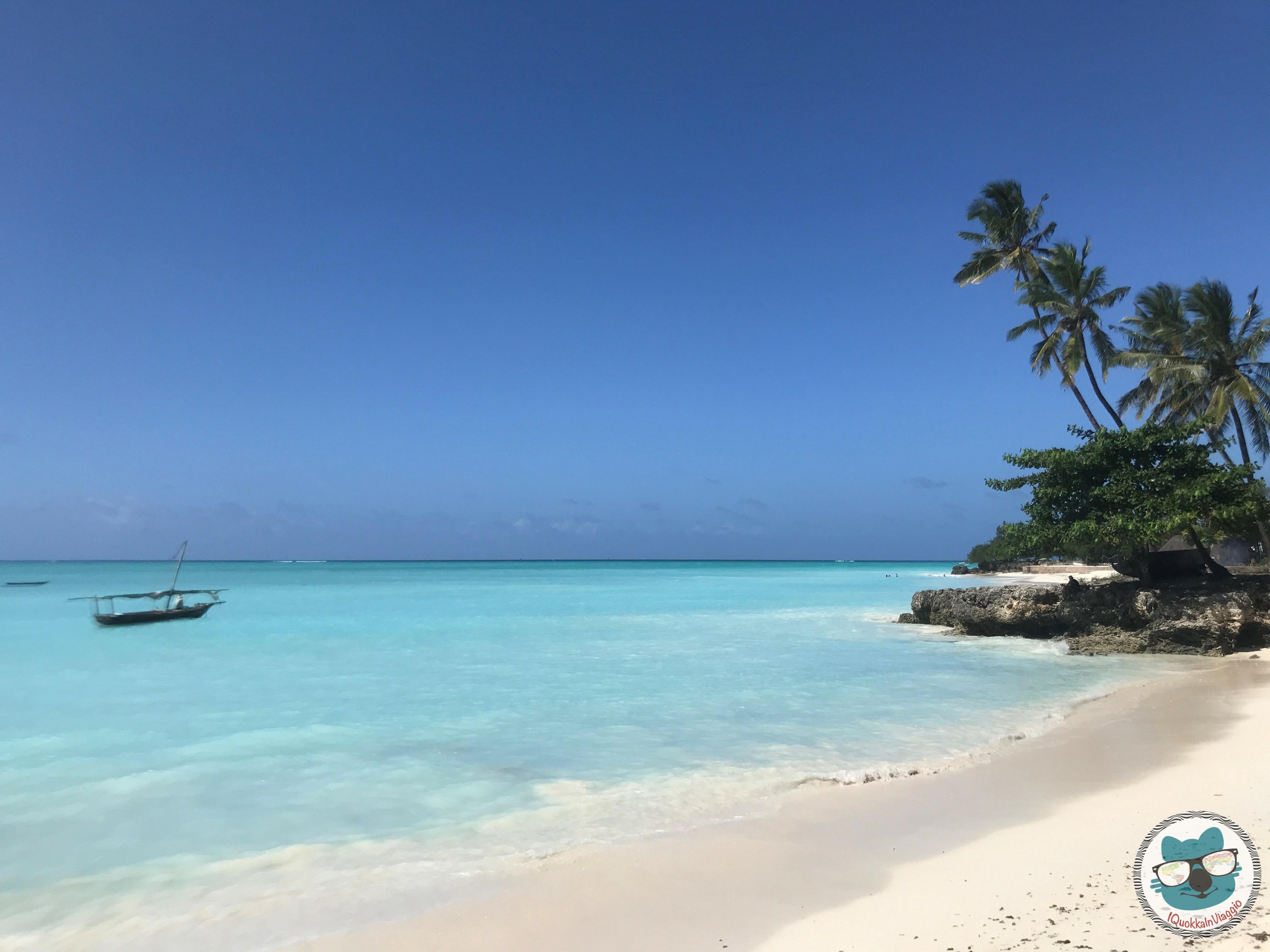 Zanzibar - Nungwi Spiaggia 2 ris
