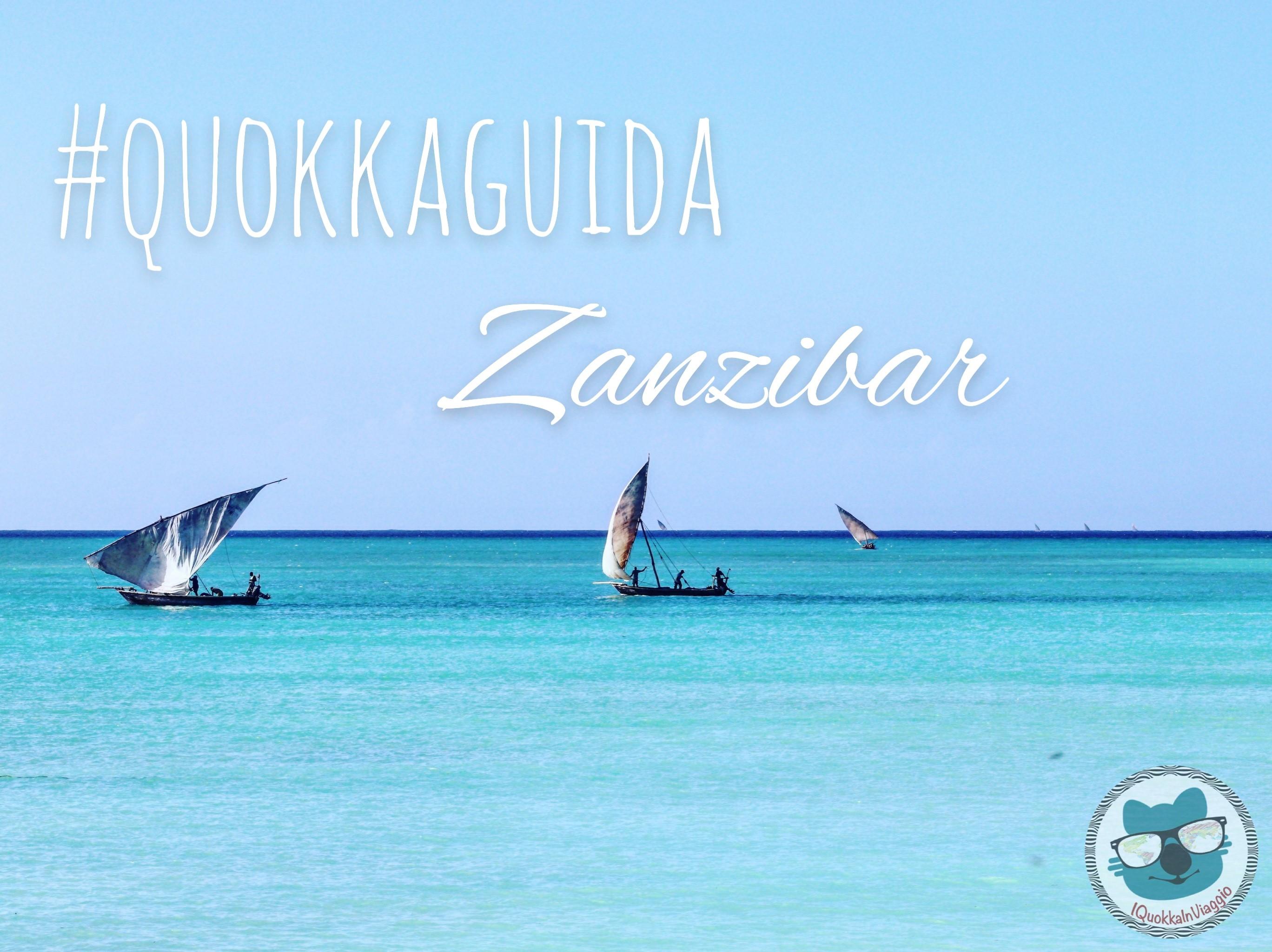 #QuokkaGuide - Zanzibar