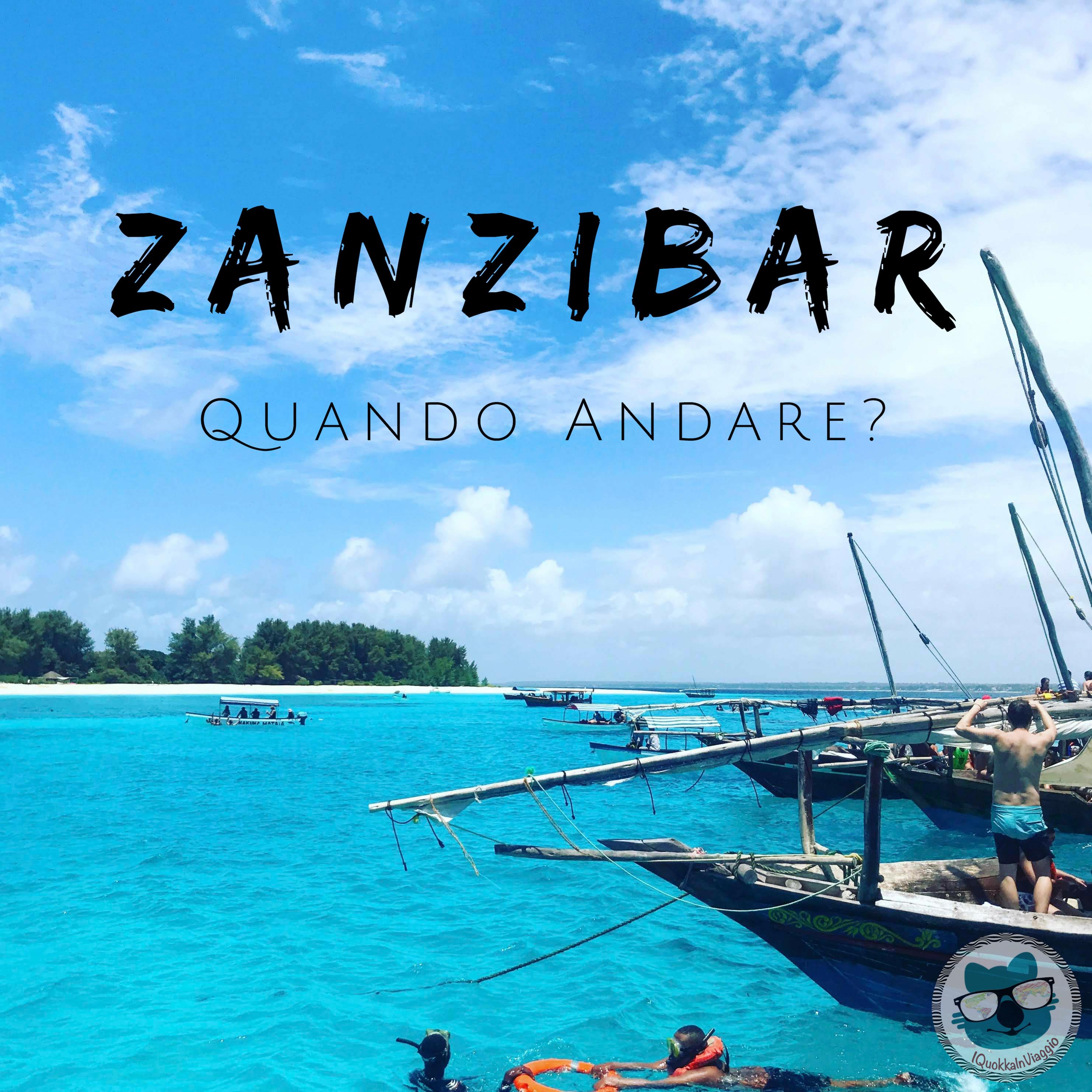 Zanzibar - Quando Andare