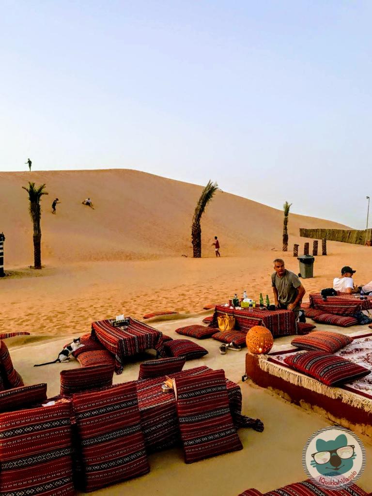Abu Dhabi - Accampamento