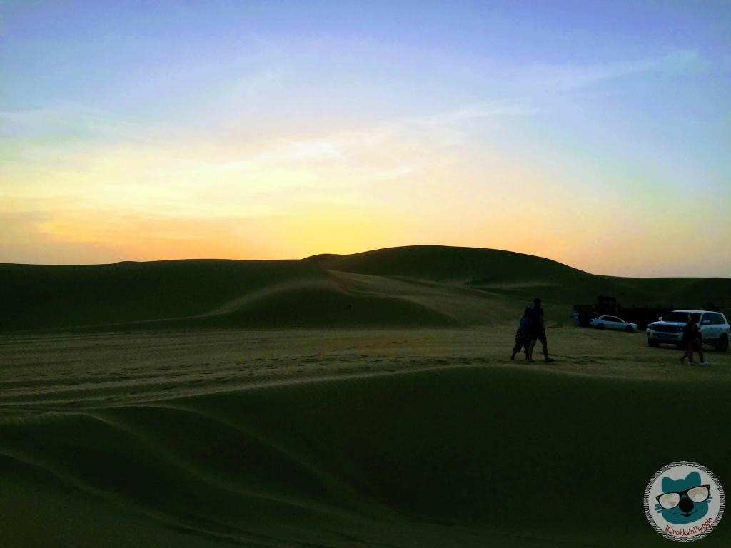 Abu Dhabi - Tramonto