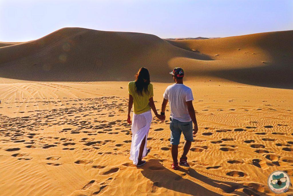 Abu Dhabi - Walk in the Desert