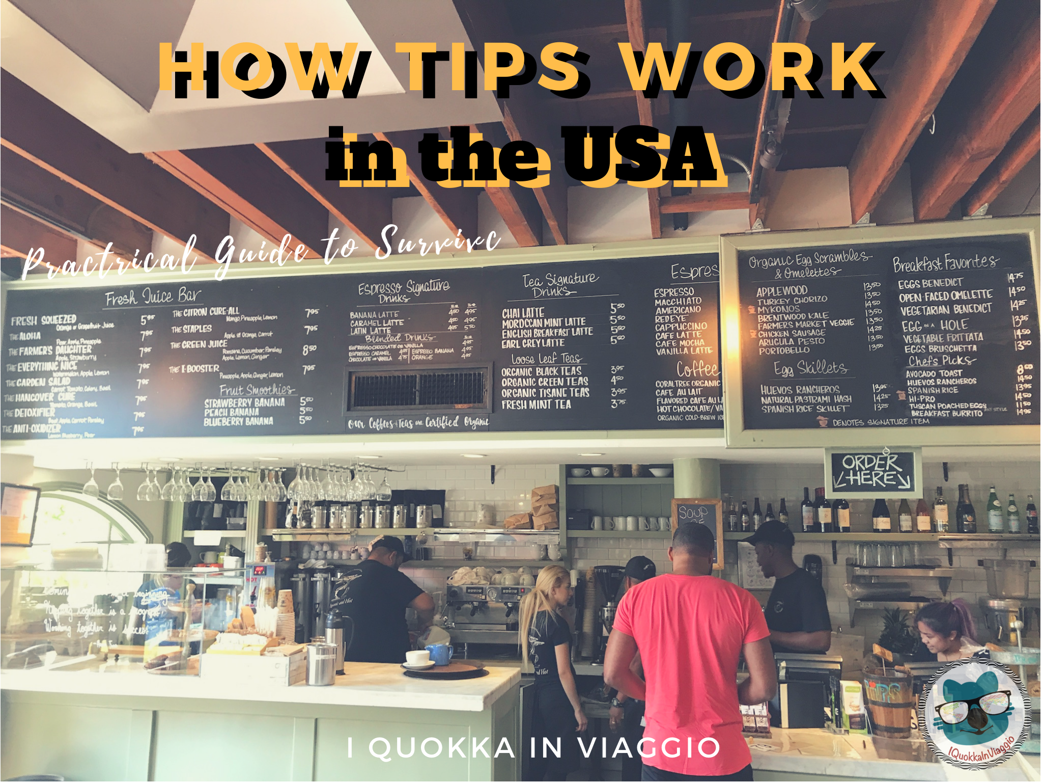 How tips work in the USA