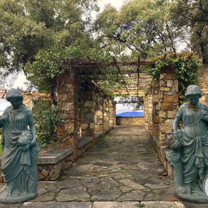 Sestri Levante - I Castelli roseto